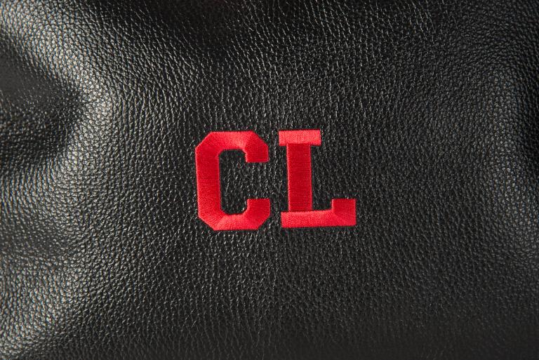 Officina ricamiera trilli pochette Leather Bag borsa